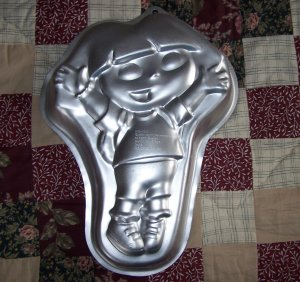 Dora The Explorer Wilton Cake Pan - Nick Jr #2105-6300