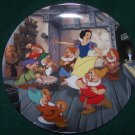 "DISNEY SNOW WHITE ""THE DANCE"" COLLECTOR PLATE"