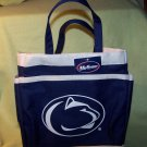 PennState Lions - Canvas / Multi-Pocket - Tote / Carry All Bag – Navy / White