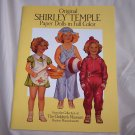 Original Shirley Temple Paper Dolls In Full Color - UNCUT