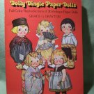 VINTAGE PAPER DOLL BOOK DOLLY DINGLE 30 PAPER DOLLS UNCUT 1978