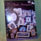 Floral Monograms Cross My Heart Cross Stitch Pattern Leaflet