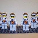 6 Lego Mars Mission Space Astronauts – Minifigs / Mini Figures