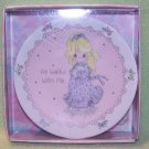 Precious Moments - Porcelain Plate – HE WALKS WITH ME - 1991