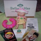 "CABBAGE PATCH KID ~ DANBURY MINT 1999 PORCELAIN GIRL BABY DOLL ""BETHANY MAE"" BEACH SWIM"
