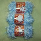 "Samba Eyelash ""Amazon"" Textured Yarn – 3 Skeins"