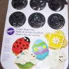Cookie Shapes Pan - 12 Cavities - 5 Spring Design Shapes