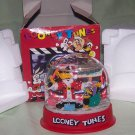 Vintage Toy 1996 Warner Bros. Looney Tunes Daffy Duck Toys Christmas Snow Globe