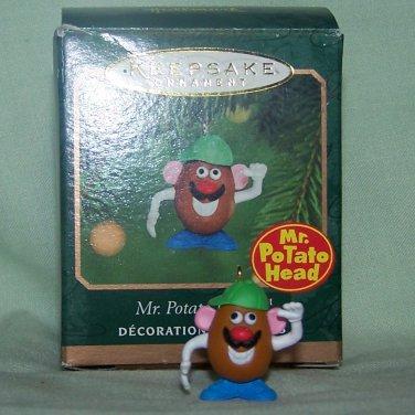 2000 Hallmark Keepsake Ornament Mr. Potato Head Miniature Mini Christmas - NEW