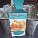 Nordic Ware Cast Aluminum Castle Bundt Cake Pan Mold 10 Cup Made in USA Mint