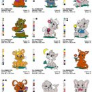 BABY ANIMALS (3) - 14 EMBROIDERY DESIGNS