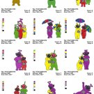 TELETUBBIES - 30 EMBROIDERY DESIGNS