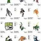 BEN 10 - 1  - 12 EMBROIDERY DESIGNS