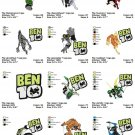 BEN 10 (2)  - 12 EMBROIDERY DESIGNS