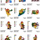 WINNIE THE POOH (2)  - 24 EMBROIDERY DESIGNS