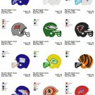 NFL HELMET (1) - 16 EMBROIDERY DESIGNS