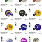 NFL HELMET (2) - 16 EMBROIDERY DESIGNS