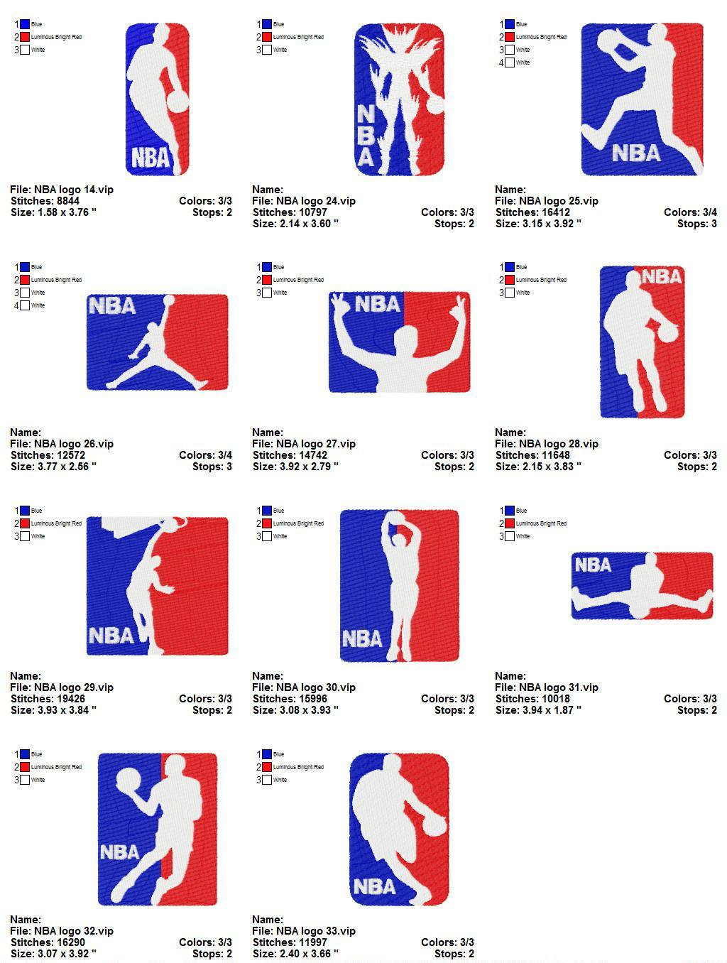 c8a3760949584 NBA LOGO (2) - 11 EMBROIDERY DESIGNS INSTANT DOWNLOAD