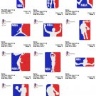 NBA LOGO (2) - 11 EMBROIDERY DESIGNS