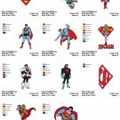 SUPERMAN (1) - 11 EMBROIDERY DESIGNS