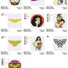 WONDER WOMAN  - 10 EMBROIDERY DESIGNS