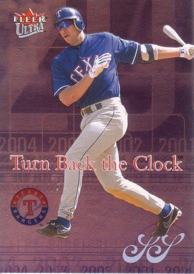 ALEX RODRIGUEZ 2004 ULTRA TURN BACK THE CLOCK #2TBC TEXAS RANGERS