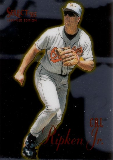CAL RIPKEN JR. 1995 SELECT CERTIFIED #72 BALTIMORE ORIOLES