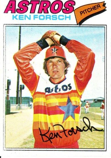 KEN FORSCH 1977 TOPPS #21 HOUSTON ASTROS