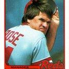 PETE ROSE 1989 TOPPS #505 CINCINNATI REDS