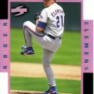 ROGER CLEMENS 1998 SCORE ROOKIE TRADED COMPLETE PLAYER #8B TORONTO BLUE JAYS