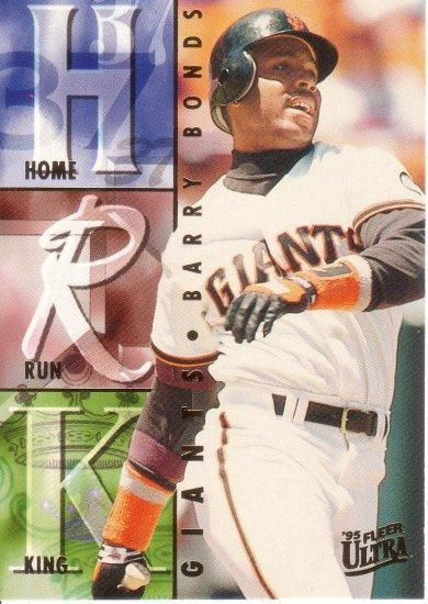 BARRY BONDS 1995 ULTRA HOME RUN KINGS #8 SAN FRANCISCO GIANTS