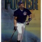 JOE CARTER 1997 FINEST EMBOSSED GOLD #338 DIE-CUT TORONTO BLUE JAYS
