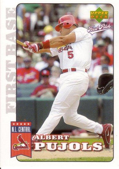 ALBERT PUJOLS 2006 UPPER DECK FIRST PITCH #178 ST. LOUIS CARDINALS