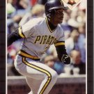 BARRY BONDS 1989 DONRUSS #92 PITTSBURGH PIRATES