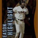 BARRY BONDS 2002 TOPPS #332 SAN FRANCISCO GIANTS