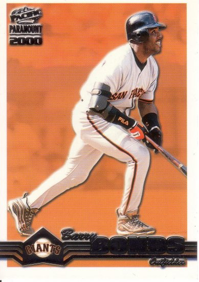 BARRY BONDS 2000 PARAMOUNT #211 SAN FRANCISCO GIANTS