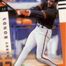BARRY BONDS 1998 PINNACLE PERFORMERS #19 SAN FRANCISCO GIANTS