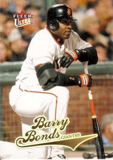 BARRY BONDS 2004 ULTRA #95 SAN FRANCISCO GIANTS
