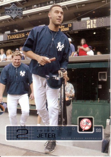 DEREK JETER 2003 UPPER DECK #127 NEW YORK YANKEES