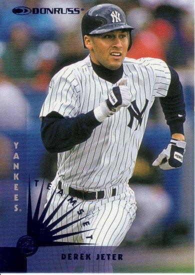 DEREK JETER 1997 DONRUSS YANKEES TEAM SET #123 NEW YORK YANKEES