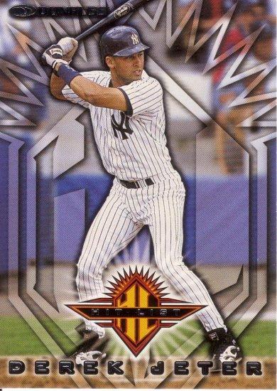DEREK JETER 1999 DONRUSS #367 NEW YORK YANKEES
