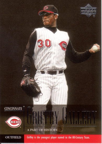KEN GRIFFEY JR. 2001 UPPER DECK #485 CINCINNATI REDS