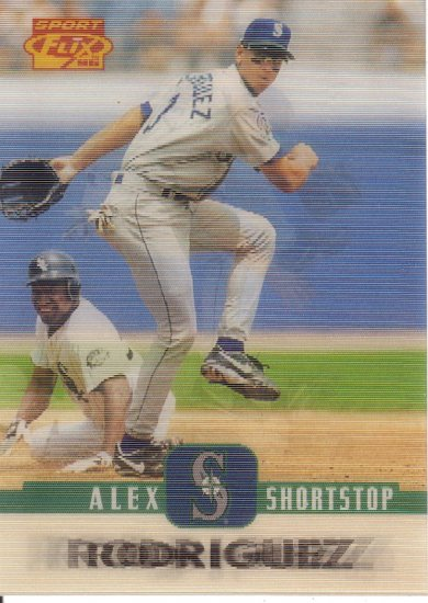 ALEX RODRIGUEZ 1996 SPORT FLIX #20 SEATTLE MARINERS