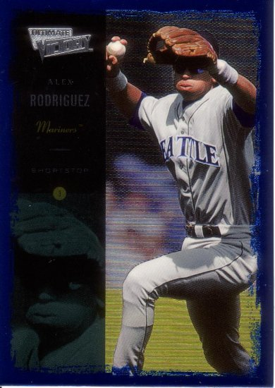 ALEX RODRIGUEZ 2000 ULTIMATE VICTORY #18 SEATTLE MARINERS