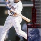 TONY GWYNN 1997 SELECT SAMPLES RED #3 SAN DIEGO PADRES