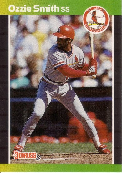 Ozzie Smith 1989 Donruss 63 St Louis Cardinals