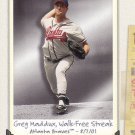 GREG MADDUX 2002 TRIPLE CROWN #241 ATLANTA BRAVES