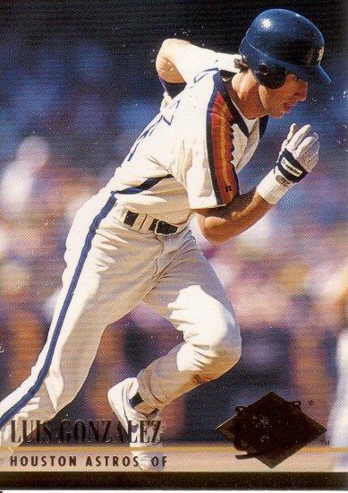 LUIS GONZALEZ 1994 ULTRA #205 HOUSTON ASTROS