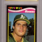 "JOSE CANSECO 1987 TOYS ""R"" US #5 ROOKIE MINT GRADING GEM MT 10 OAKLAND ATHLETICS"