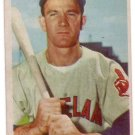 GEORGE STRICKLAND 1954 BOWMAN #36 CLEVELAND INDIANS